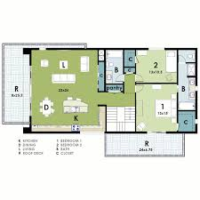 2 bedroom modern house plans neat and simple small house plan