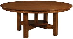 conner large round trestle dining table