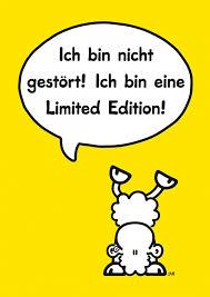 ohne dich ist alles doof spr che limited edition comic echte postkarten versenden