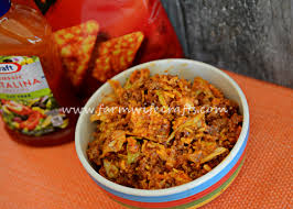 taco salad with doritos the farmwife crafts