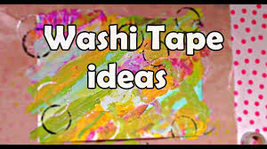 washi tape ideas painting collab with shae206 acrylic painting