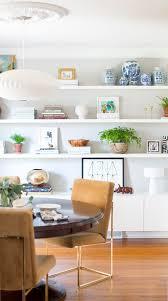 Living Room Wall Shelving by Best 25 White Shelves Ideas On Pinterest Bedroom Inspo Desk