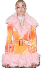 j valentine cotton candy coat dolls kill