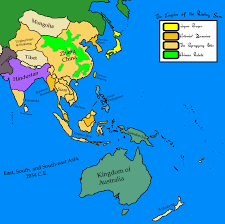 Southern And Eastern Asia Map by East Asia Texan Universe By Goliath Maps On Deviantart