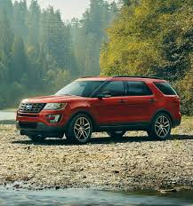 2017 Ford Explorer Suv Features Ford Ca