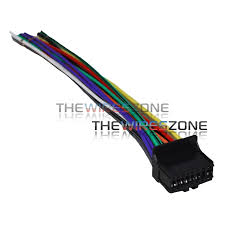 16 pin wire harness for select pioneer radios the wires zone