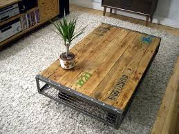 best 25 industrial coffee tables ideas on throughout