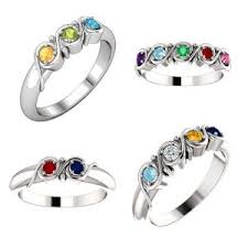 birthstone rings for mothers mothers birthstone jewelry family jewelry monthly birthstones