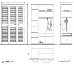 grandezza cabina armadio armadi cabine armadi dwg