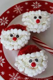christmas santa cupcakes kids food craft kids food crafts