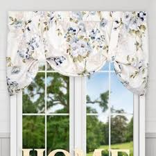 floral valances u0026 kitchen curtains you u0027ll love wayfair