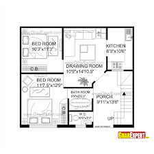 home plan in 690 sq ft gallery also house for feet by plot images