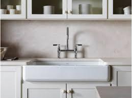 kohler farmhouse sink cleaning finest farmhouse sink elegant kohler porcelain kitchen modern black