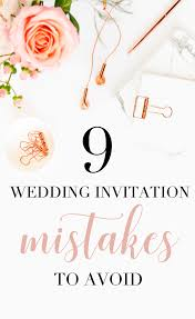 Discount Wedding Invitations With Free Response Cards 9 Wedding Invitation Mistakes To Avoid U2013 Papersizzle