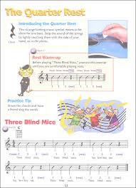 Three Blind Mice Notes For Keyboard Alfred U0027s Kid U0027s Guitar Course 1 Book W Enhanced Cd U0026 Dvd 009136