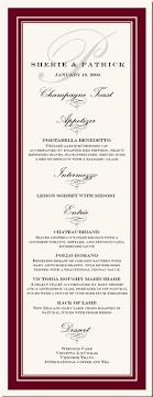 exles of wedding reception programs wedding menu cards wording exles 28 images wedding menu