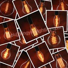Edison Bulb String Lights Vintage Edition Outdoor Commercial String Lights With Nostalgic