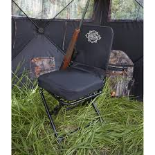 Swivel Outdoor Chair Guide Gear Swivel Hunting Chair Black 222292 Stools Chairs