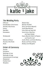Printable Wedding Programs Free Free Printable Wedding Programs Templates Templates Many