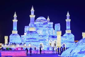 harbin snow and ice festival 2017 ice and snow sculpture festival theme parks review