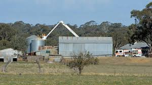 Grain Silo Homes by Man Trapped In Grain Silo Rescued Bendigo Advertiser