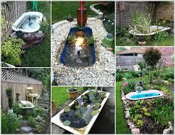 Backyard Garden Ponds A Bathtub Pond In Your Garden Will Be Just Great