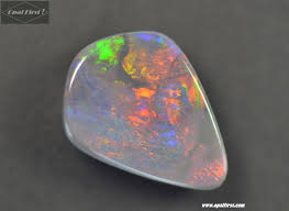 black opal 2 8 ct solid black opal stone 12 8 x 9 5 x 3 8 mm video opal first