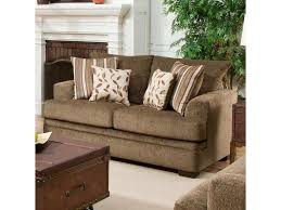 American Casual Living by American Furniture 3650 Casual Loveseat With 2 Seats Royal