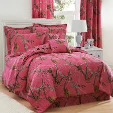 realtree fuchsia pink camo comforter bedding