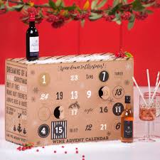 wine to advent calendar by thelittleboysroom