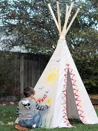 how to build a backyard teepee fort how tos diy