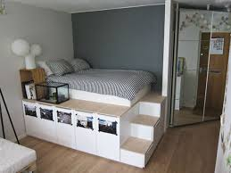 Plans For Platform Bed Frame With Drawers by Best 25 Bed Frame Storage Ideas Only On Pinterest Platform Bed