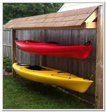 Free Standing Kayak Storage Rack Plans by Outdoor Kayak Storage Ideas Get Shed Plans Here Pinterest