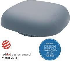 design feuermelder design rauchmelder kupu brandmelder grau reddot award gewinner