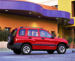 tracker jeep 2002 chevrolet tracker pictures history value research news
