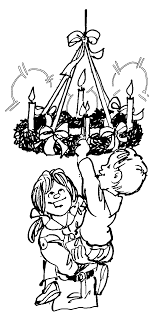 advent coloring pages wecoloringpage