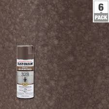 rust oleum stops rust 12 oz hammered spray paint 7213830 the