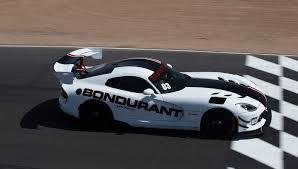Dodge Viper Race Car - a bonus for viper and hellcat buyers lessons at the bondurant