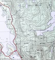 Plateau Of Mexico Map by Hiking Map Of Forbidden Plateau U0026 Campbell River Vancouver Island