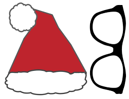 free christmas photo booth props printable paper trail design
