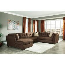 delta sofa and loveseat 1970234 ashley furniture delta city chocolate armless loveseat