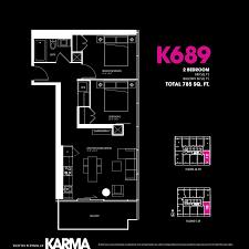 karma condos karma condo 2 bedroom floor plans