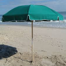 Cheap Beach Umbrella Frankford Umbrella Emerald Coast Collection 7 5 Ft Commercial
