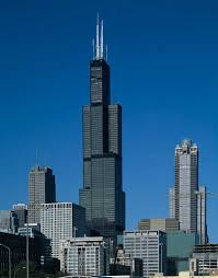 willis tower chicago photo of tallest building in chicago america s tallest building