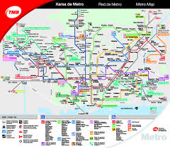 Madrid Subway Map Barcelona City Maps Metro Bus Train Airport U0026 Taxis Information