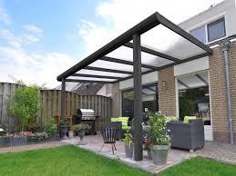 terrasse transparente construction terrasse couverte transparente