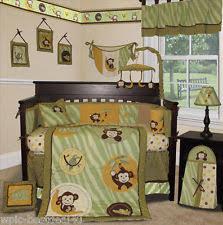 Jungle Nursery Bedding Sets Sisi Jungle Unisex Nursery Bedding Sets Ebay