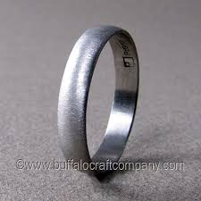 simple mens wedding bands men s wedding bands buffalo craft company llc