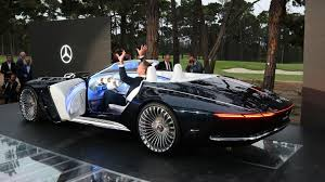 maybach mercedes coupe vision mercedes maybach 6 cabriolet is a gorgeous top down ev