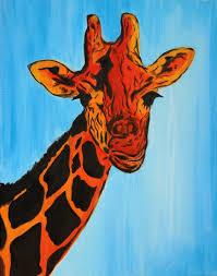modern giraffe ring holder images Hand made giraffe pop art modern abstract african animal jpg